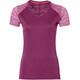 asics fuzeX Koszulka do biegania z krótkim rękawem Kobiety czerwony